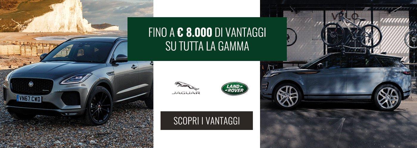 Vantaggi Jaguar Land Rover