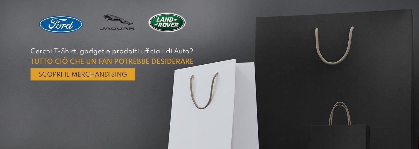 Merchandising Ford, Jaguar e Land Rover