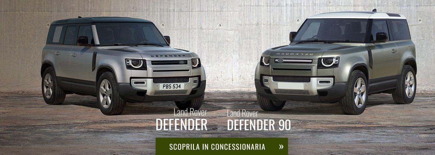 Nuovo Land Rover Defender e Defender 90