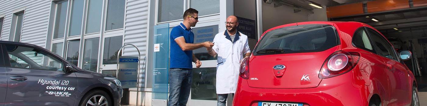 Assistenza stradale e Vettura di cortesia Unicar