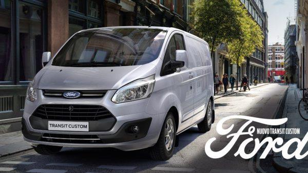 Nuovo Ford Transit Custom - Unicar Spa