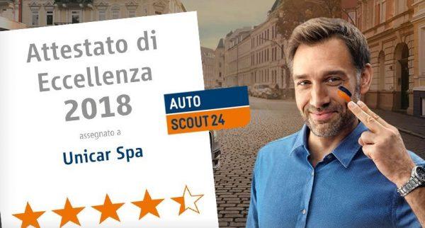 Attestato di eccellenza 2018 - Unicar Spa