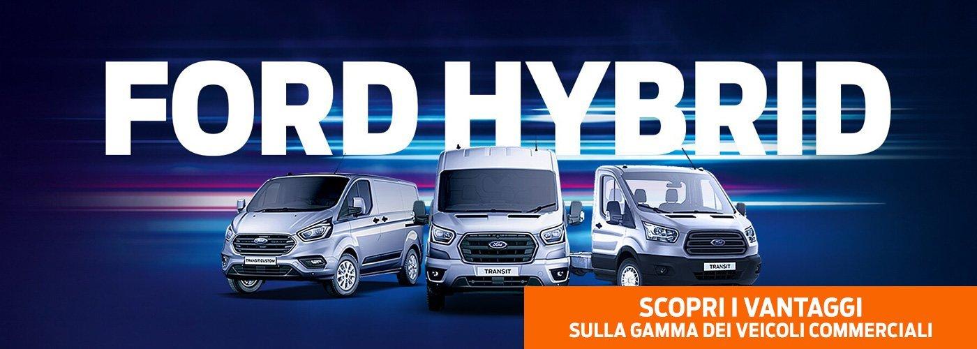 Veicoli commerciali Ford Hybrid