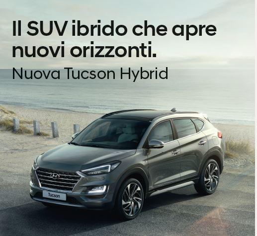 Nuova Hyundai Tucson Hybrid - Unicar Spa