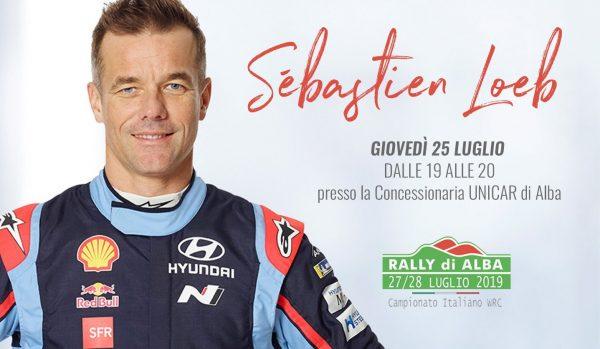 Rally di Alba 2019 – Unicar Hyundai di Alba presenta Sébastien Loeb - Unicar Spa