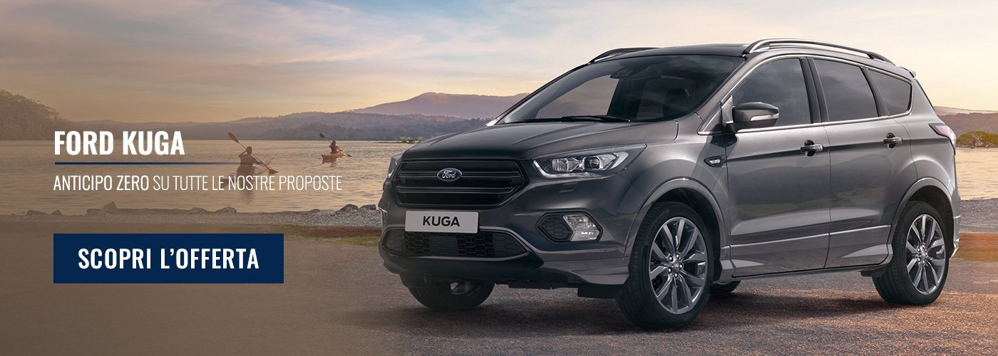 Ford Kuga: acquista o noleggia