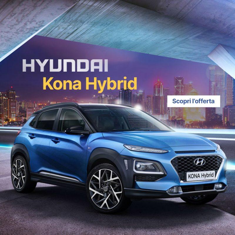 Nuova Hyundai Kona Hybrid - Offerte Unicar Spa