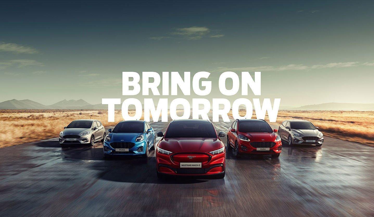 Bring on tomorrow - Veicoli elettrificati Ford