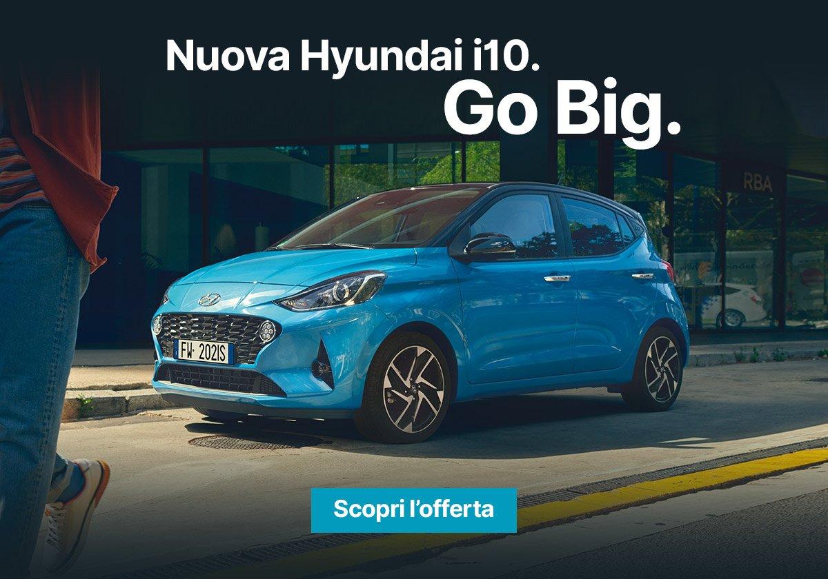 Nuova Hyundai i10 - Offerte Unicar Spa