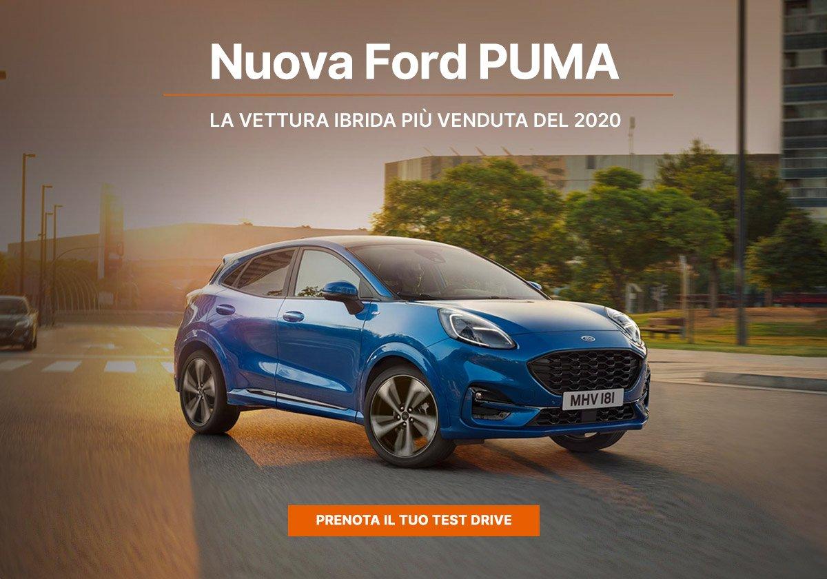 Nuova Ford Puma Titanium - Offerte Unicar Spa