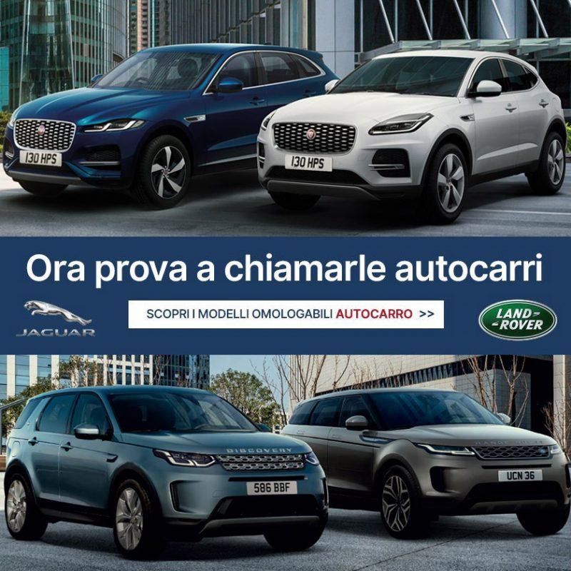 Jaguar e Land Rover: immatricolazione Autocarro - Offerte Unicar Spa