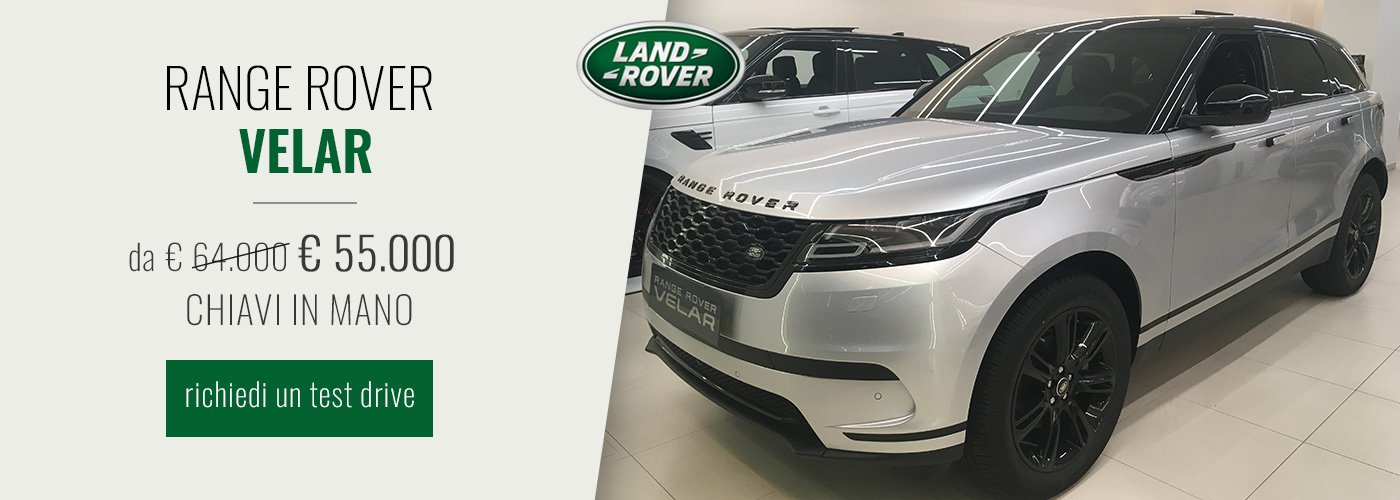 Range Rover Velar offerta