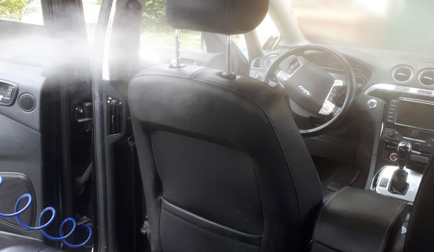 sanificazione professionale auto da Unicar