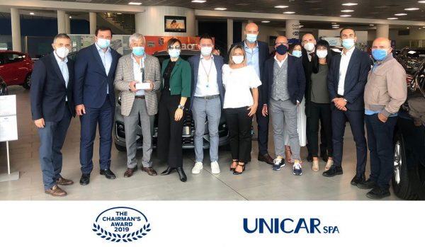 Unicar vince il trofeo Ford Chairman's Award 2019 - Unicar Spa