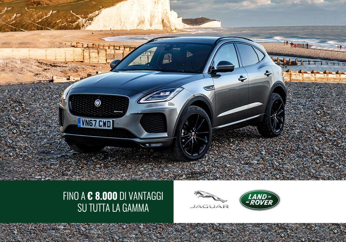 Jaguar e Land Rover in offerta - Offerte Unicar Spa