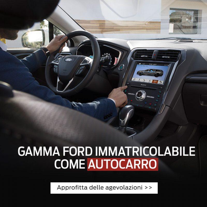 Gamma Ford immatricolabile come autocarro - Offerte Unicar Spa