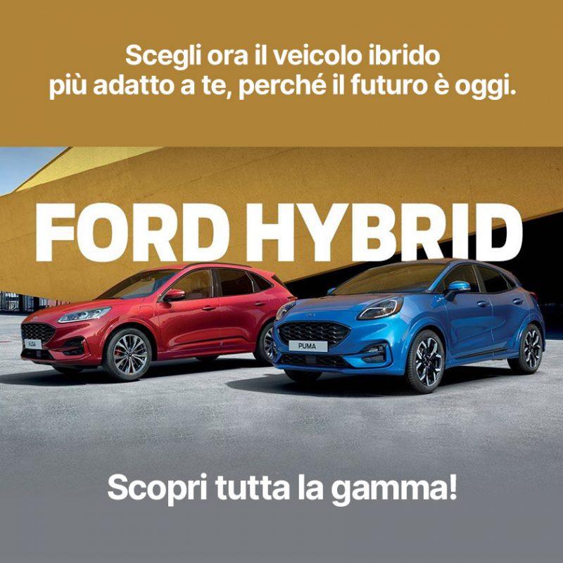 Gamma Ford Hybrid - Offerte Unicar Spa