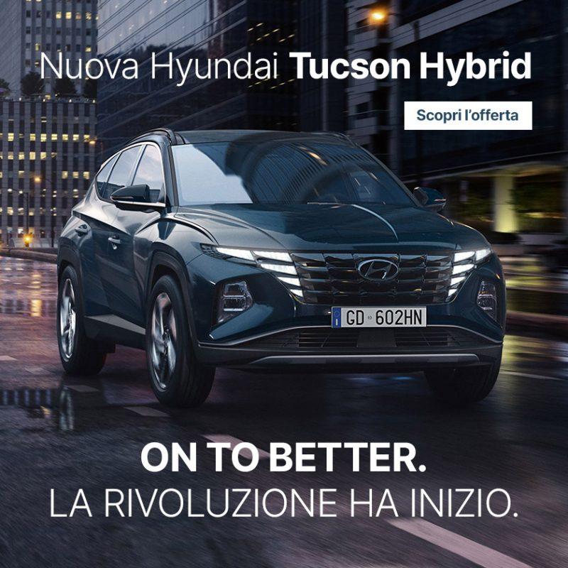 Nuova Hyundai Tucson Hybrid - Offerte Unicar Spa