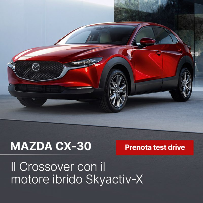 Test Drive Mazda (no-landing) - Offerte Unicar Spa