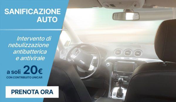 Sanificazione auto - Unicar Spa