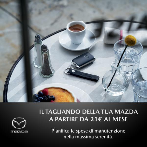 Il Tagliando della tua Mazda a partire da 21€ al mese - Unicar Spa