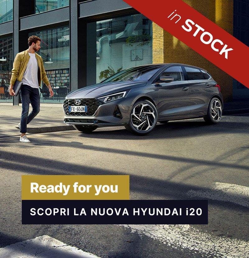 Hyundai i20 in stock