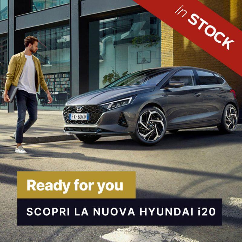 Nuova Hyundai i20 IN STOCK - Offerte Unicar Spa
