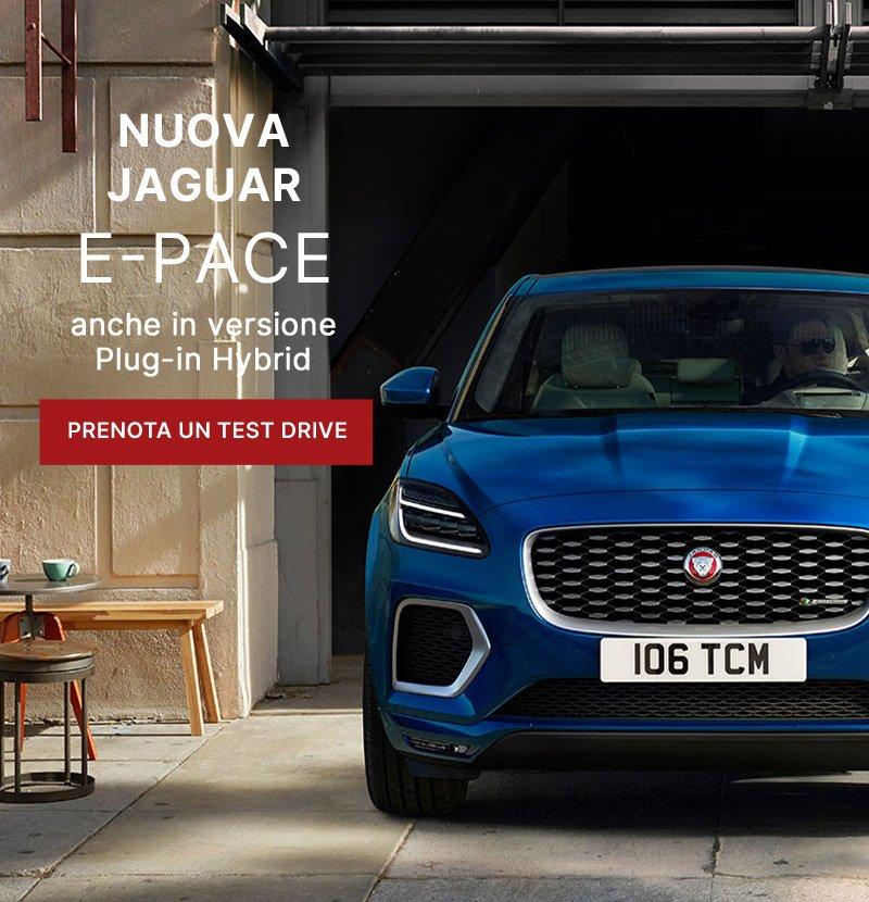La nuova Jaguar E-Pace nelle concessionarie Unicar