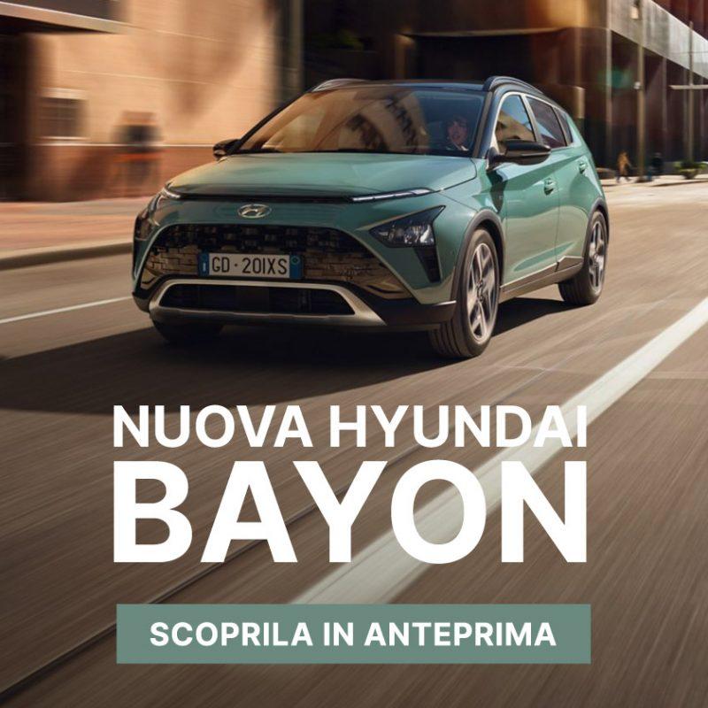 Nuova Hyundai BAYON - Offerte Unicar Spa