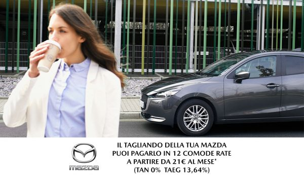 Mazda: Tagliando a Tasso Zero - Unicar Spa