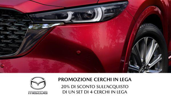 Mazda: Promozione Cerchi in Lega - Unicar Spa