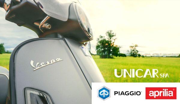 Unicar entra nel mondo delle due ruote con Vespa, Piaggio e Aprilia - Unicar Spa