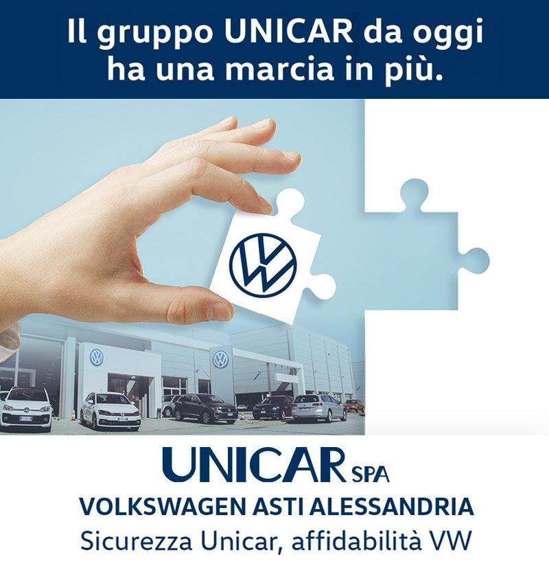 Nuove concessionarie Unicar Volkswagen